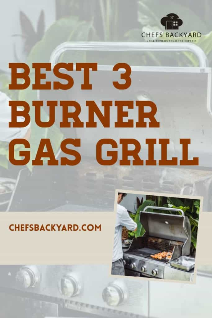 Best 3 burner gas grill comes with enhance durability due to the quality materials they are made of. Consistently withstanding all elements of weather because the component material are rust-resistant; hence even heat distribution is maintained. #3-burner grill #gas grill #convenient cooking