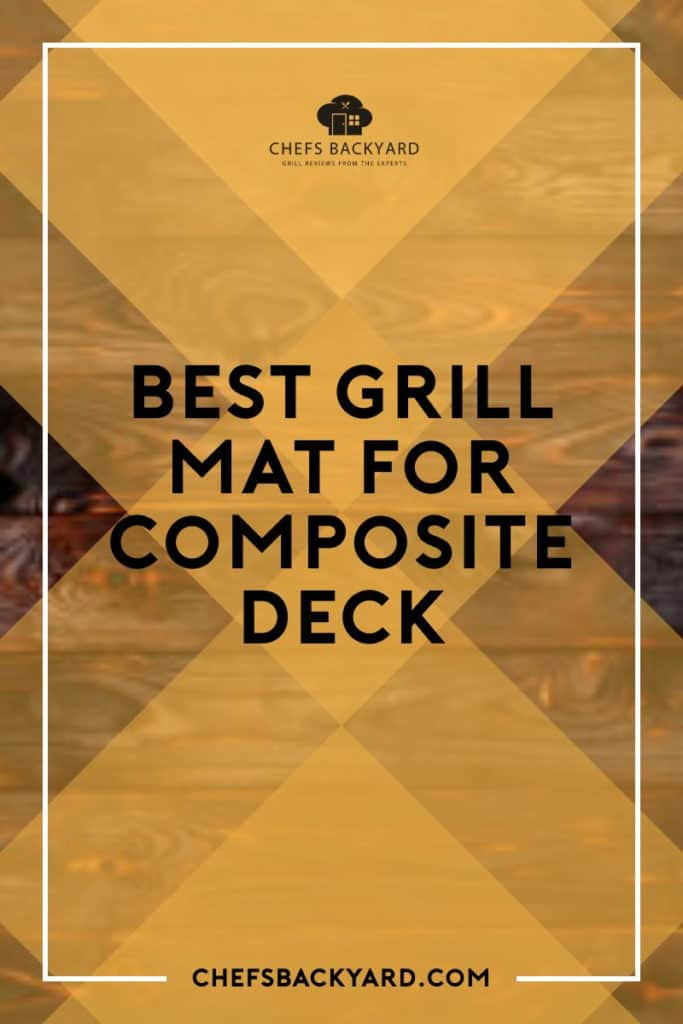 Naturally design to protect your deck from impending damages during your BBQ party. A weather-proof mat capable of prevent your deck from weathering elements for a sufficient amount of time. Also, the Best Grill Mat also comes with a slip-proof feature which makes scalding the least of your worries. #BBQ #composite deck #Grill mat While you grill, you can make your temperature go as high as 700 degrees Fahrenheit on the grates without be afraid of what happens next. Perfect heat-resistant quality to enhance sufficient grilling when having a BBQ party. Some are 100% recyclable material sufficient for handling and 100% non-stick feature to prevent your mat from being messy. #BBQ #composite deck #Grill mat